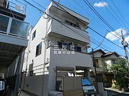 東京都品川区荏原1丁目の賃貸アパートの外観