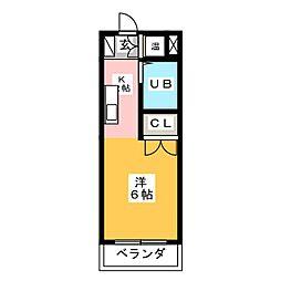 パークアベニューI[3階]の間取り
