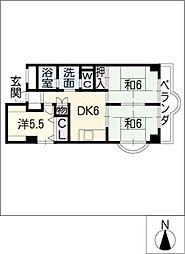 杉原ビル[3階]の間取り