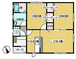[一戸建] 岩手県北上市和賀町藤根18地割 の賃貸【/】の間取り