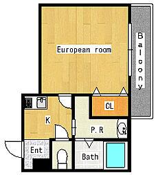 ウィンズコートII[3階]の間取り