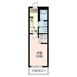 サンボナール[2階]の間取り