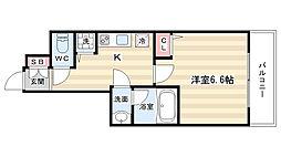 アスヴェル京都東寺前[2階]の間取り