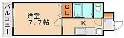 ピュアアダージョ[2階]の間取り