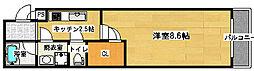 フジパレス堺鳳東町2番館[205号室]の間取り
