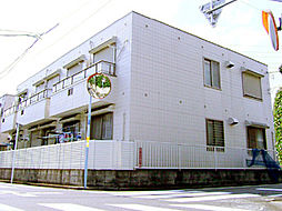 東京都杉並区松ノ木3丁目の賃貸アパートの外観