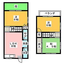 曽根ハウス (荒川貸家)[1階]の間取り