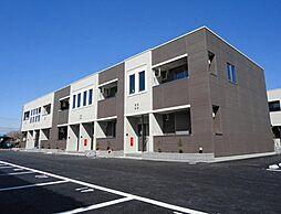 栃木県下野市下古山の賃貸アパートの外観