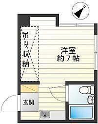 第5富喜マンション[105号室]の間取り