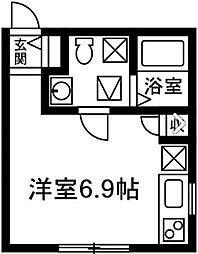 プリマ前橋弐番館202[202号室]の間取り