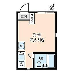 ソレイユ経堂[1階]の間取り