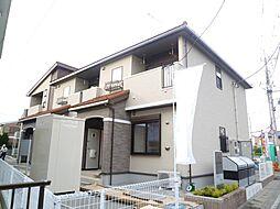 栃木県宇都宮市上横田町の賃貸アパートの外観