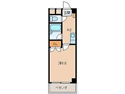 ル・マンA1番館[5階]の間取り