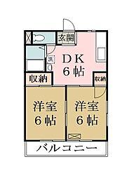 グランドハイム内田[3階]の間取り