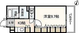 広島県広島市安佐南区緑井6丁目の賃貸マンションの間取り