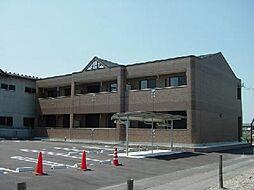 愛知県一宮市今伊勢町馬寄字宮東の賃貸アパートの外観
