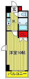 クレストガーデン野田[3階]の間取り