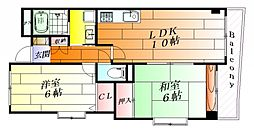 フォレスト千里II[5階]の間取り
