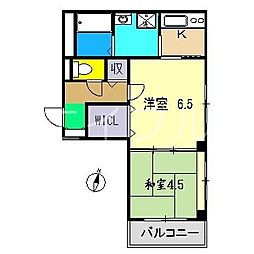 アヴニール[2階]の間取り