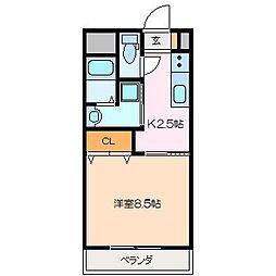 仮)久保田町MマンションA棟[1階]の間取り