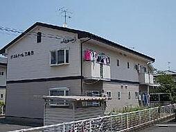福岡県福岡市西区千里の賃貸アパートの外観