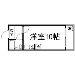 フォレストコート1番館[2階]の間取り