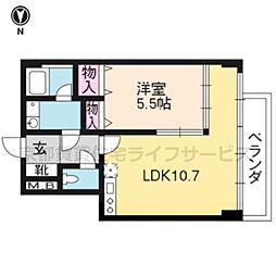 KEN&LALA[205号室]の間取り