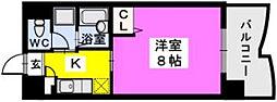 BRILLIANT36[5階]の間取り
