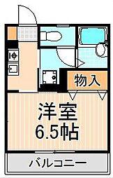カーサソレイユ梅島[103号室]の間取り