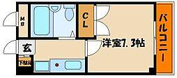 ルミエール明石[5階]の間取り