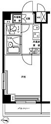 東京都大田区多摩川2丁目の賃貸マンションの間取り