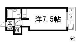 宝塚マナーハウス[3階]の間取り