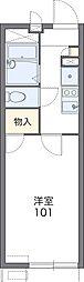 Osaka Metro谷町線 大日駅 徒歩10分の賃貸アパート 2階1Kの間取り