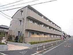東京都足立区皿沼3丁目の賃貸アパートの外観