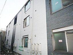 東京都足立区千住仲町の賃貸アパートの外観