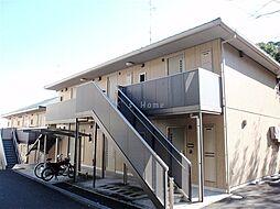 兵庫県神戸市中央区葺合町字布引山の賃貸アパートの外観