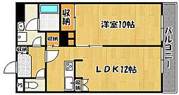 兵庫県明石市太寺大野町の賃貸マンションの間取り
