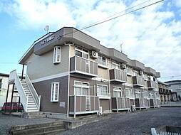 ハイツ吉岡B[1階]の外観
