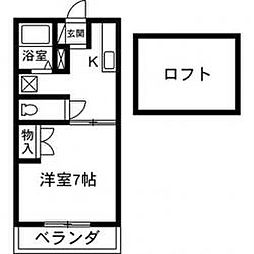 ロイヤルシャトー[205号室]の外観
