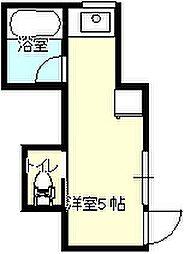 下林アパート[A-3号室]の間取り