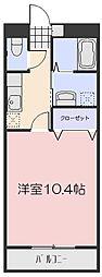 成和第6ビル[1階]の間取り