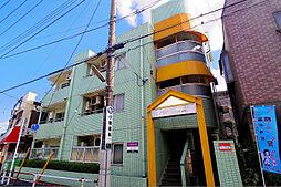 東京都清瀬市竹丘1丁目の賃貸マンションの外観