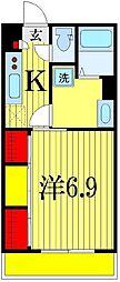 リブリ・検見川町[1階]の間取り