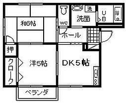 サンヒル岸和田 3[1階]の間取り