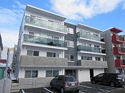 北海道札幌市豊平区豊平六条10丁目の賃貸マンションの外観