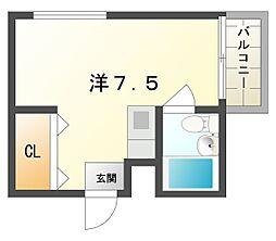 ユース・ナカモト[3階]の間取り