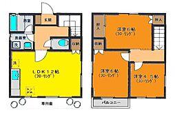 [一戸建] 神奈川県茅ヶ崎市十間坂2丁目 の賃貸【/】の間取り