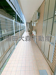 東京都大田区大森西6丁目の賃貸マンションの外観