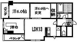 第45長栄シャルト五条[1001号室号室]の間取り