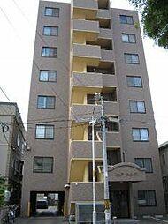 北海道札幌市北区北二十三条西2丁目の賃貸マンションの外観